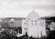 تصویر نقشه قبرهای بزرگان اسلام در قبرستان بقیع