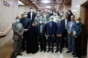 تجلیل از خدمات ارزشمند محمد سلطان مرادی با حضور اصحاب رسانه کیش