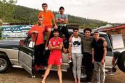 تفریح دستهجمعی فوتبالیستها در اوج کرونا/عکس
