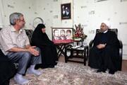 رییس جمهور درگذشت مادر شهیدان مهدوی زفرقندی را تسلیت گفت