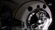 ببینید | عملیات الحاق فضاپیمای کرو دراگون با ایستگاه فضایی بینالمللی!