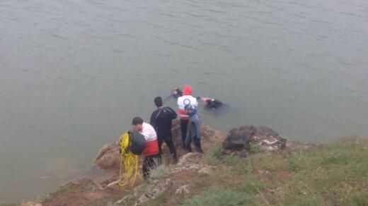 غرق شدن زن جوانی که میخواست بچهاش را نجات دهد