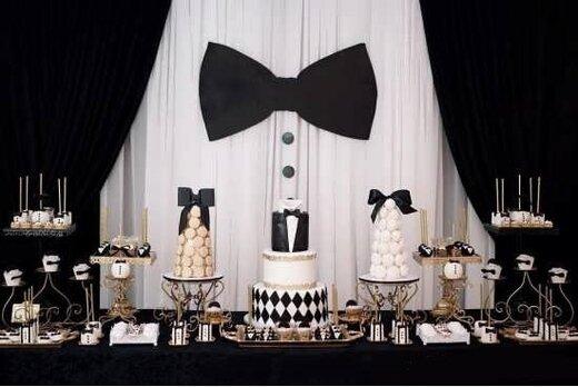 تبریک تولد با تم تولد مردانه و تزیین کیک خانگی در سورپلاس