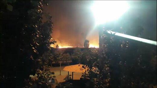 ببینید   آتش سوزی وسیع در بوستان ولایت تهران