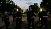 عکس روز رویترز/کاخ سفید در دود و آتش