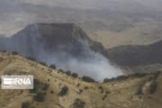 تصاویر | عملیات مهار آتش خائیز