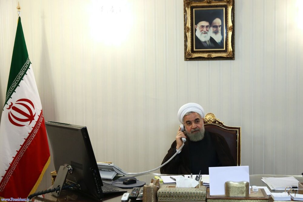 President Rouhani: Iran stands by Afghan people, Gov't