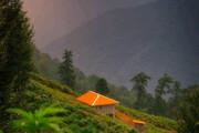 ببینید | تصویری زیبا از ارتفاعات ماسال گیلان