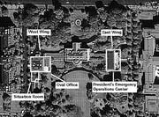 اسرار پناهگاه مخفی کاخ سفید/عکس