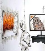 آقای تلویزیون آتش سوزی رو هم ببین!
