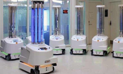 نقش پررنگ ۵ ربات در مبارزه با ویروس کرونا