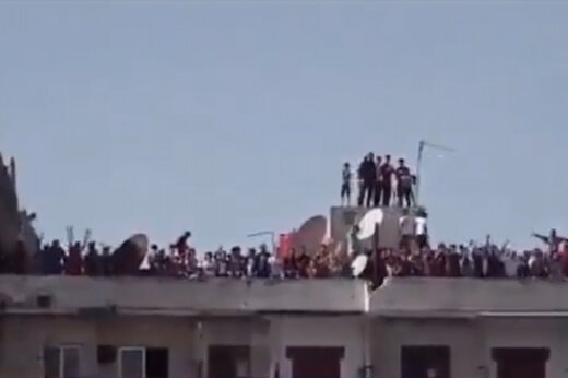 ببینید | فوتبال بدون تماشاگر ضد کرونایی در سوریه که خبرساز شد!