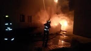 مهار آتش سوزی واحد مسکونی در شاهین شهر