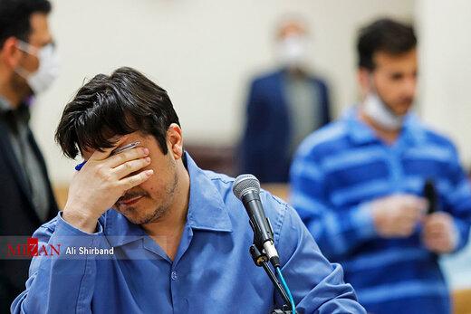 پنجمین جلسه رسیدگی به اتهامات روح الله زم