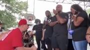ببینید | فیلمی عجیب از التماس سفیدان تگزاسی از سیاهان