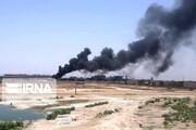 ببینید | آتش سوزی در انبارهای شرکت فولاد خوزستان