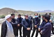 استاندار خراسان جنوبی از روند اجرای پروژه راهسازی قاین به کالشور بازدید کرد