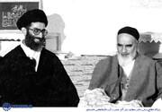 ببینید | امام خمینی خطاب به آیت الله خامنهای: شما رهبر بشوید