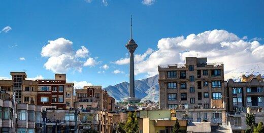 تهران از ابتدای فروردین چند روز هوای پاک داشته است؟