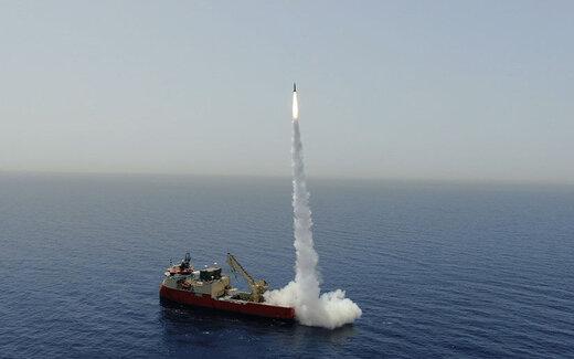 اسرائیل موشک بالستیک آزمایش کرد
