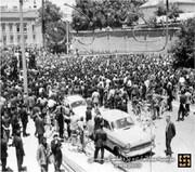 تظاهر کنندگان در پانزده خرداد 42 در کدام محلات تهران راهپیمایی کردند؟