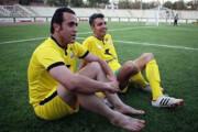 حضور علی کریمی در تمرین تیم عادل فردوسیپور/عکس