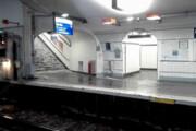 ببینید | بلایی که بارش باران و سیل بر سر مترو پاریس آورد
