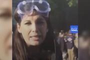 ببینید | حمله پلیس آمریکا به خبرنگار CNN