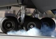 سانحه برای هواپیما در فرودگاه شهید دستغیب شیراز