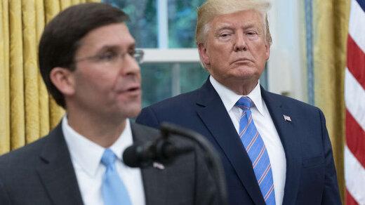 رئیس پنتاگون از مخالفت با اعزام نیرو به واشنگتن صرفنظر کرد/ بوی استعفا میآید؟