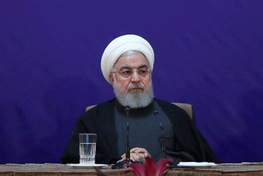 الرئيس روحاني : عار على رئيس يرفع الانجيل ليقتل الابرياء