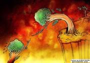 تصویری تلخ از آتش سوزی جنگلهای زاگرس!