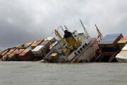 ببینید | جزئیات غرق شدن شناور باری بهبهان؛ یک کشته و 2 مفقود