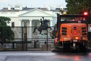 ببینید | تدابیر جدید امنیتی در اطراف کاخ سفید