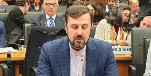 نامه ایران به آژانس اتمی درباره رفتار غیرقانونی و متخلفانه آمریکا