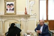 مادر شهیدی که قالیباف پس از رئیس مجلس شدن، به دیدارش رفت +عکس