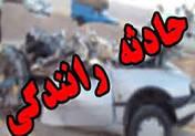 یک کشته حاصل تصادف وانت مزدا با کامیون کِشنده در چهارمحال و بختیاری