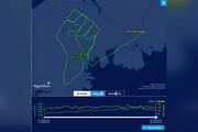 ببینید | ابتکار دیدنی خلبان کانادایی برای یادبود «جورج فلوید»
