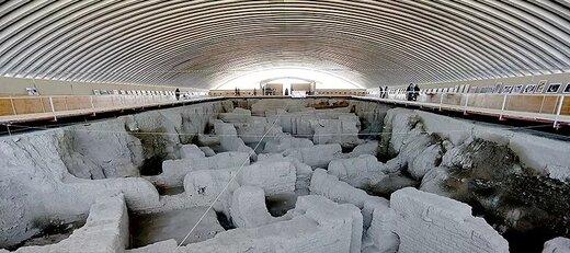 آتش در هگمتانه/ آثار تاریخی ۲۵۰۰ ساله آسیب ندیده است