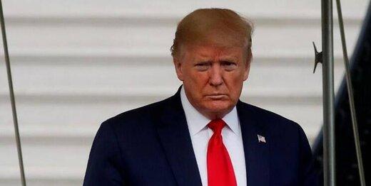 ترامپ همچنان در حال تشکر است!/عکس