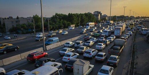 شلوغی ورودیهای پایتخت