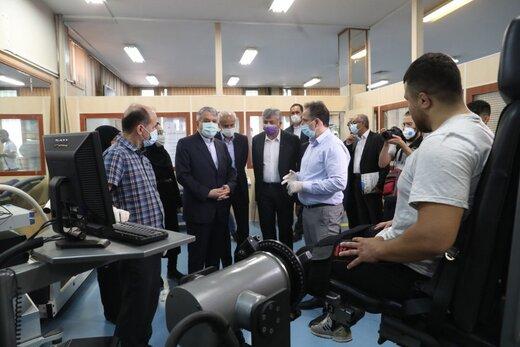 بازدید رئیس کمیته ملی المپیک از فدراسیون شنا،شیرجه و واترپلو