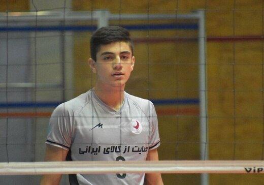 یک ارومیهای، جوانترین لژیونر والیبال ایران شد
