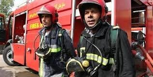 آتشسوزی بشکههای گازوئیل در کارگاه شرکت نفت اهواز
