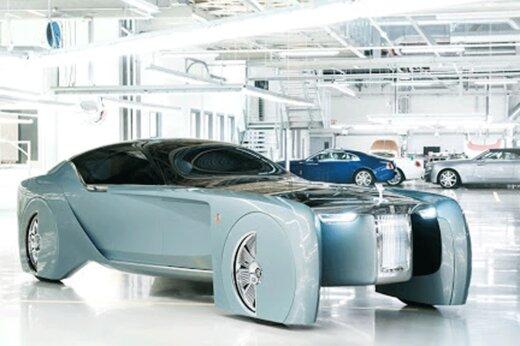 ببیند    جدیدترین ماشین هوشمند رولز رویس!