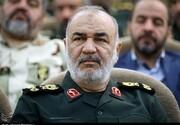 پیام فرمانده کل سپاه در پی درگذشت رمضان عبدالله شلح