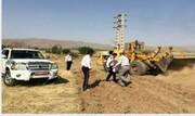 پنج هکتار ازاراضی ملی استان از ید متصرفان خارج شد
