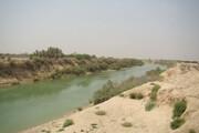 ببینید | خشکشدن رود جراحی و تقلای ماهیان برای نفس کشیدن و زنده ماندن
