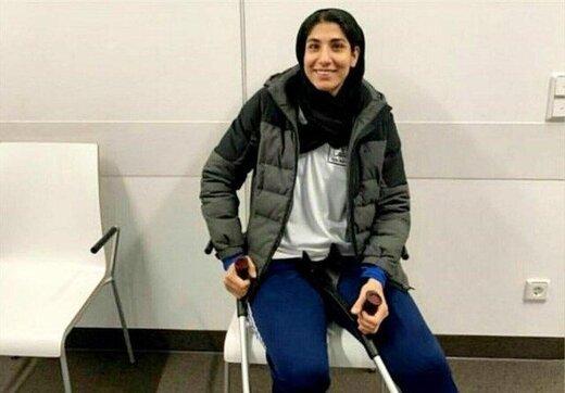 لباس ۲ ستاره استقلال برتن زن المپیکی ایران/عکس