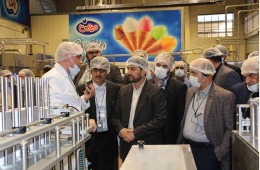 بازدید سرپرست وزارت صمت از کارخانجات گروه صنعتی میهن